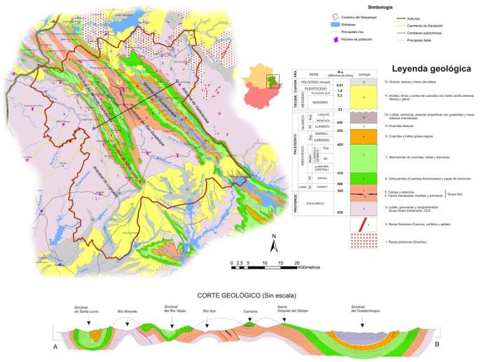 villuercas-mapa